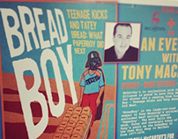 """BreadBoy"" Author Visit Poster"