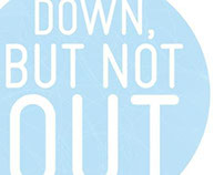 The Down But Not Out Charity Branding