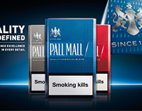 3D pack renders for Pall Mall