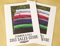 Summer Fall 2013 Sales Guide