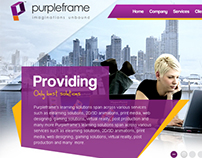 Website redesigned for E-learning company.