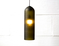 glocke pendant / french green