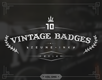 Vintage Badges & Logo Template