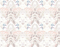 Wallpaper pattern design 19 Edouard Artus ©2014