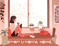 Saudade: a study of light | Illustration