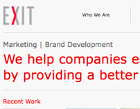 EXIT Marketing | Re-brand