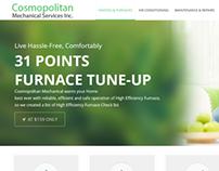 Cosmopolitan Mechanical Website