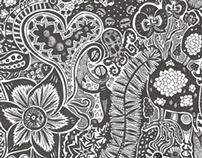 Doodling drawings