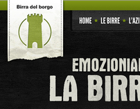 Web Interface - Birra del Borgo