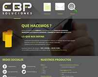 Website (cbp soluciones)
