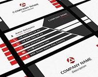 Free Print Ready Creative Business Card Vol.04