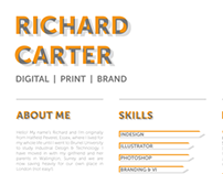CV - Richard Carter