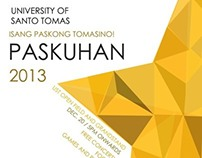 Bauhaus-inspired UST event posters