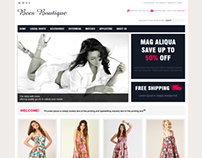 Bees Boutique HomePage