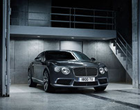 Bentley Continental GT V8 - Retouching