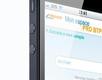 PRO BTP app