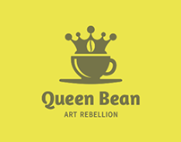Queen Bean - Logo & Branding Project