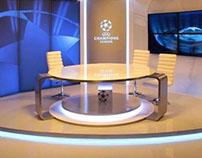 CHAMPIONS League TV Studio /DIGI Slovakia/