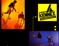 Pro Kennex Racquetball Point of Purchase