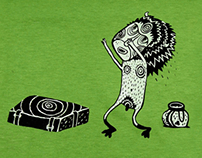 Creatures for Pullova T-shirts