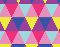 Geometric patterned wallpapers for iOS 7