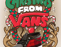 VANS X'mas Poster 2012