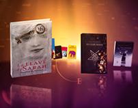 Santillana Book Store Animation