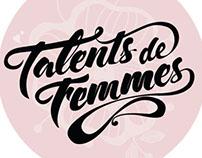 LETTERING TALENTS DE FEMMES BY OSHUN
