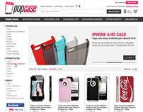 Loja virtual Pop Case