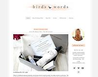 Blog Design - Layout & Photography