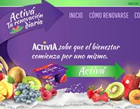 Activia   Key Visual