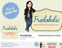 Freelaholic: site, mídias sociais e branding