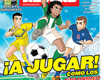 Preview of Mexican Football League like Supercampeones.