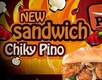 Prego new sandwich