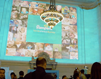 Pampers Projection Mapping Event