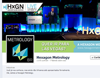 Hexagon Metrology: blog e Facebook