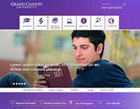 Web - University Concept Home Page