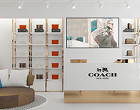 Coach shop - China