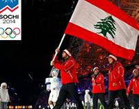 SUPPORTING TEAM LEBANON @ SOCHI OLYMPICS 2014