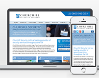 Churchill Security Responsive Web Design & Development