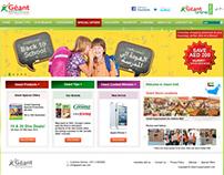 Geant UAE Hypermarket Website - E-commerce