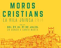 """Propuesta cartel """"Moros I Cristianos 2014"""""""