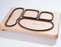 Signature desk tray