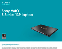 Sony VAIO sales packet