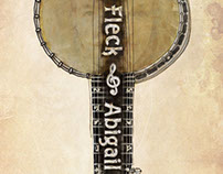 Béla Fleck and Abigail Washburn Poster