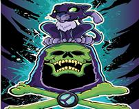 Panthor Skeletor Illustration
