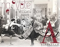 Swing Vote A List promotional postcard
