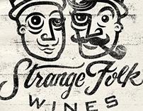 Strange Folk Wines - Logo