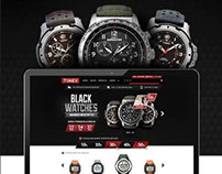 Timex Black Friday Hotsite