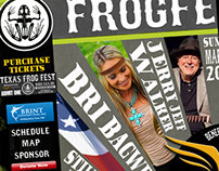 Texas Frog Fest Graphics